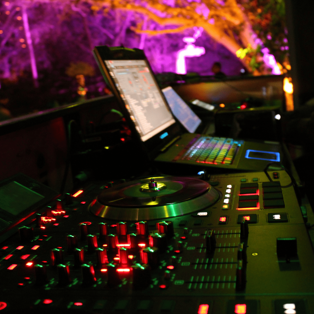 Consola DJ LarAudio