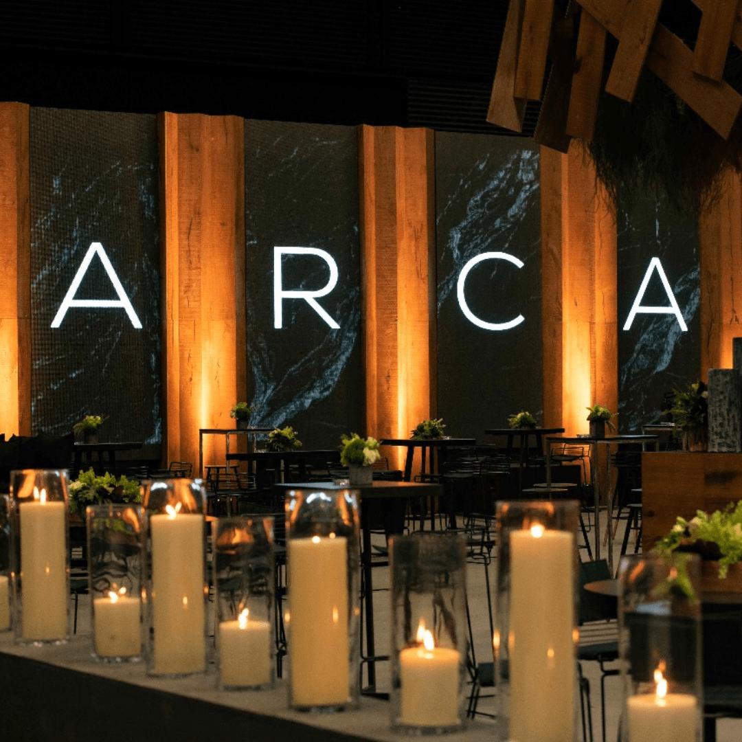 Evento ARCA Empresarial producción Laraudio y planner Carlos Guillermo Eventos