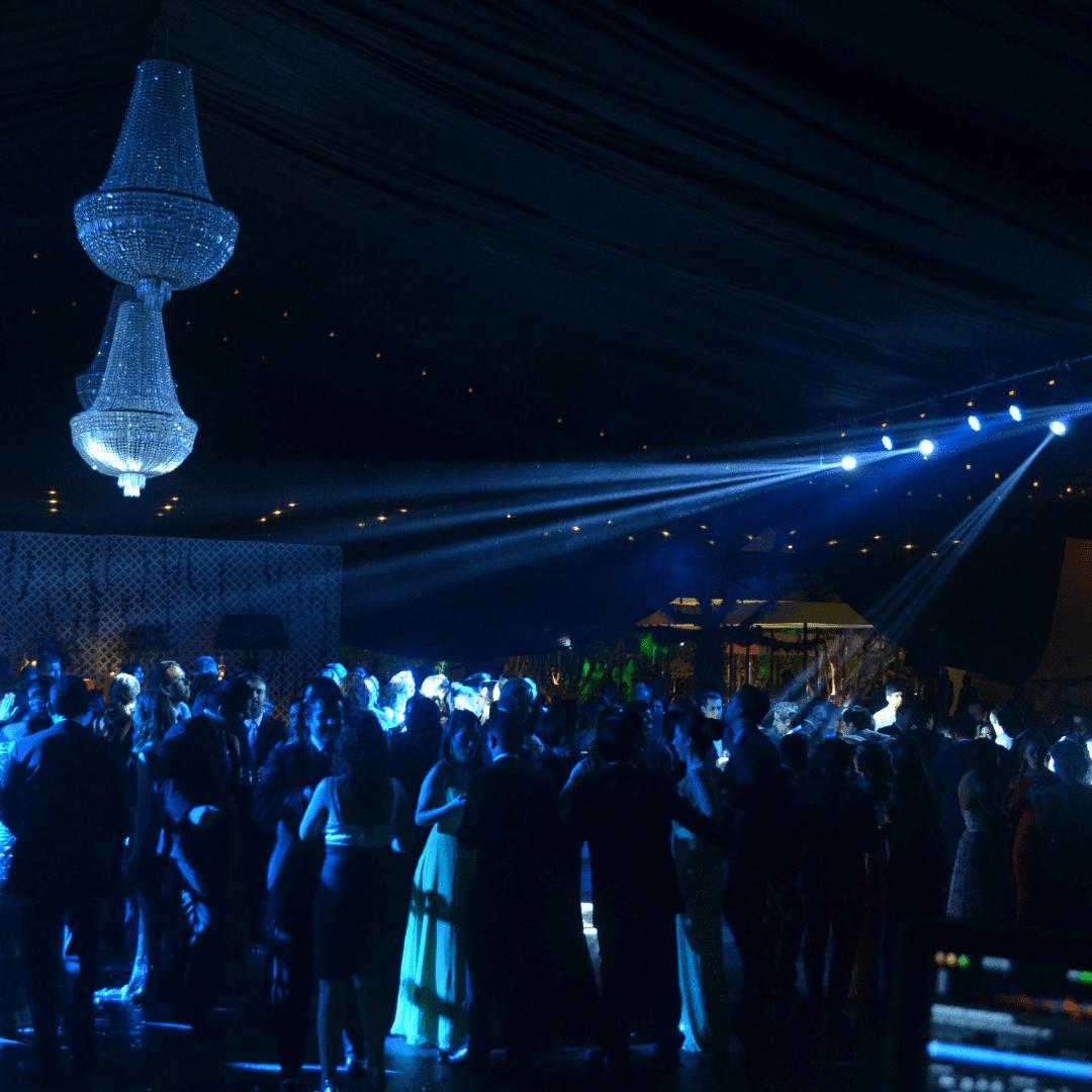 Cabezas Robóticas en boda LarAudio