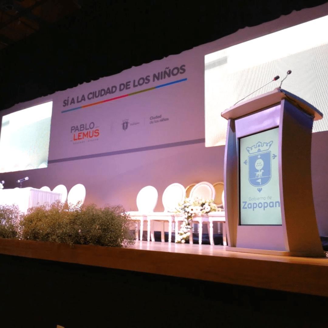 Evento de Gobierno de Zapopan LarAudio