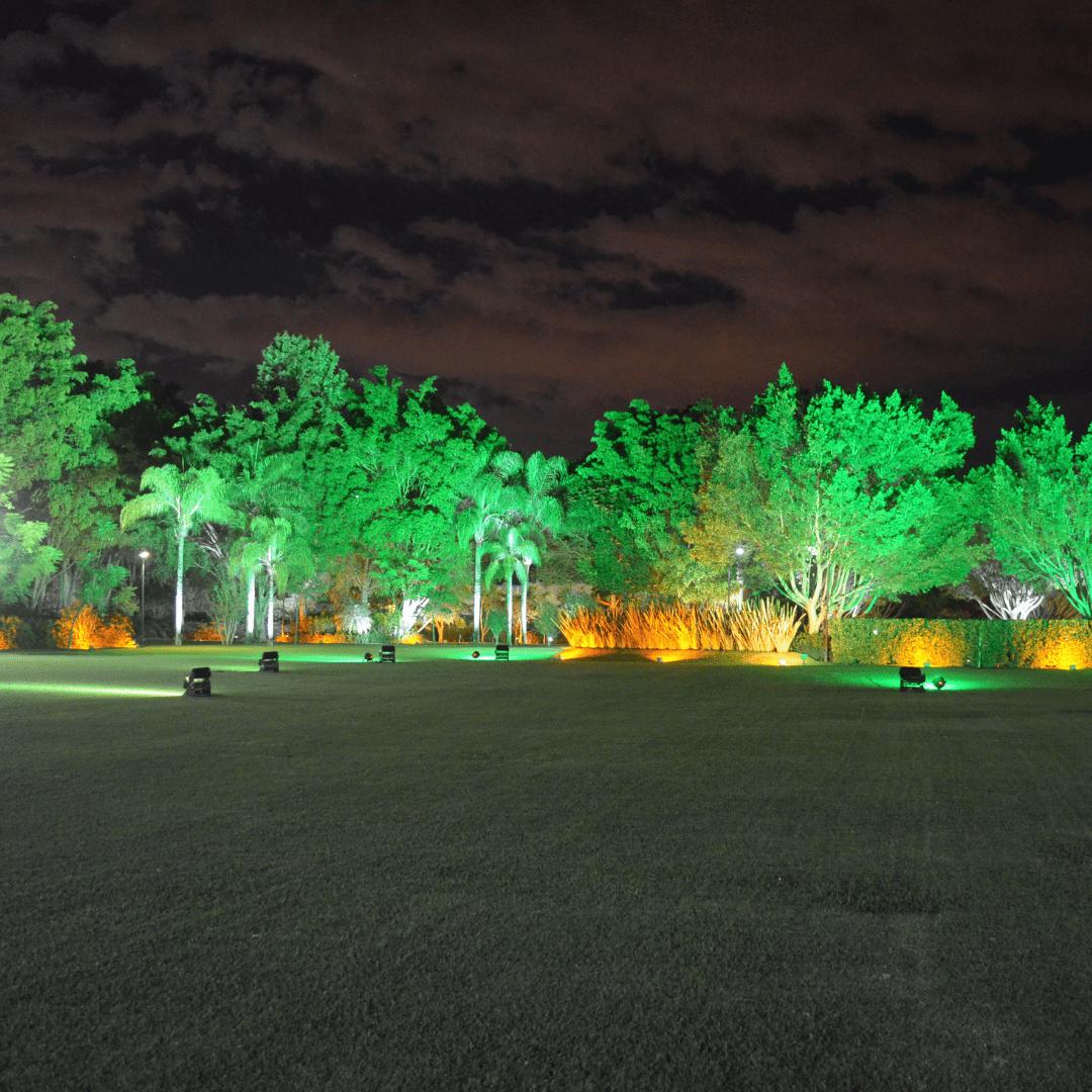 Iluminación decorativa de jardines LarAudio