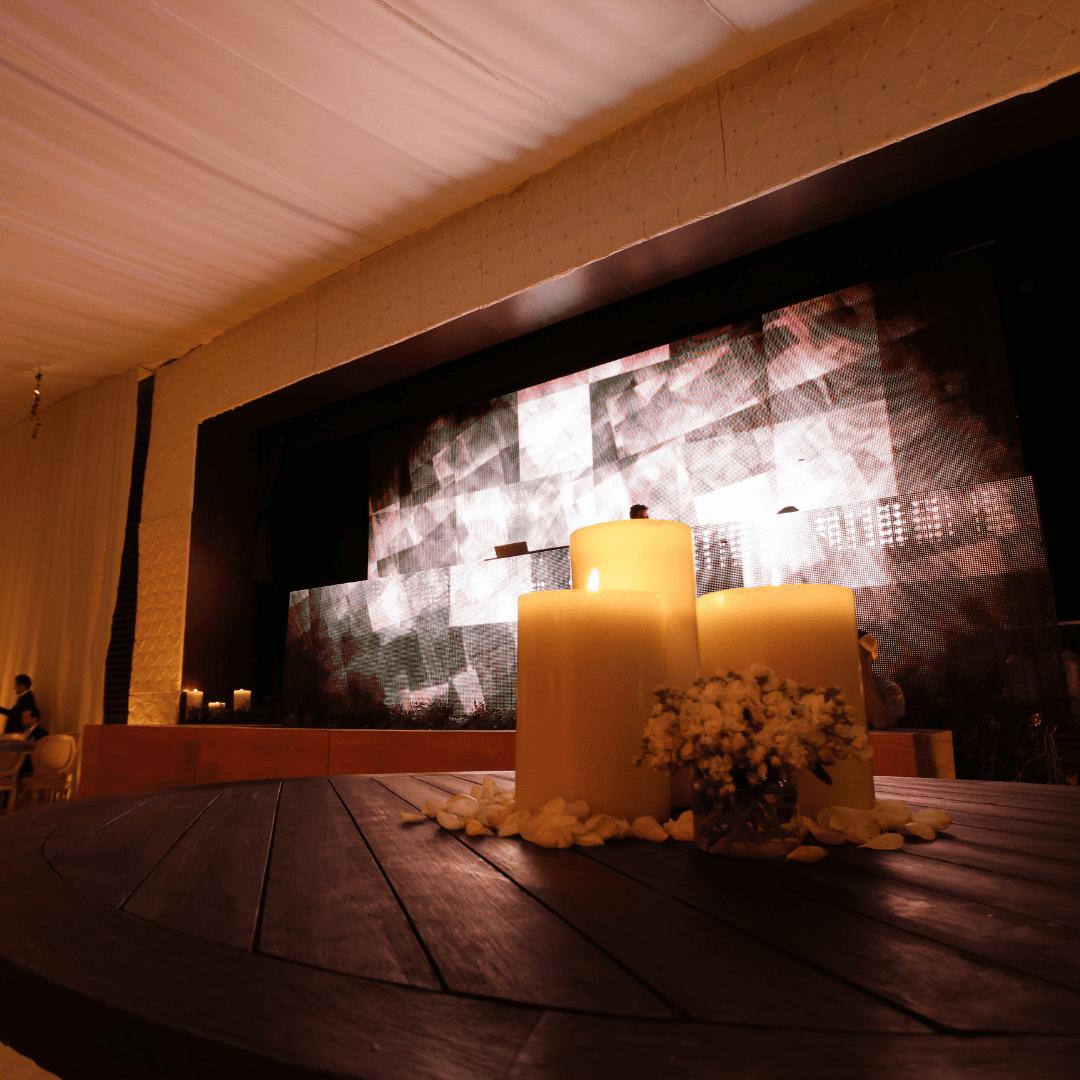 Pantalla de leds gigante en Benavento por LarAudio